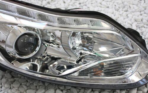 CHROM SCHEINWERFER SET FORD FOCUS MK3 DYB ab 2010 LED TAGFAHRLICHT TFL MOTORE QT