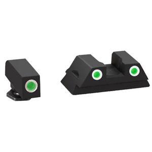 for glock ameriglo night sight set 3dot tritium gl 430 model 42 43