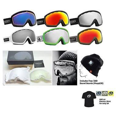 Electric EGB2s Ski Snowboard Goggles