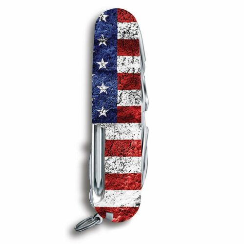 Victorinox Swiss Army Fieldmaster US Flag Wounded Warrior Project 55075.US2 NEW