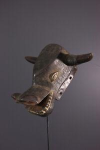 MASQUE-HOLO-AFRICAN-ART-AFRICAIN-PRIMITIF-ARTE-AFRICANA-AFRIKANISCHE-KUNST