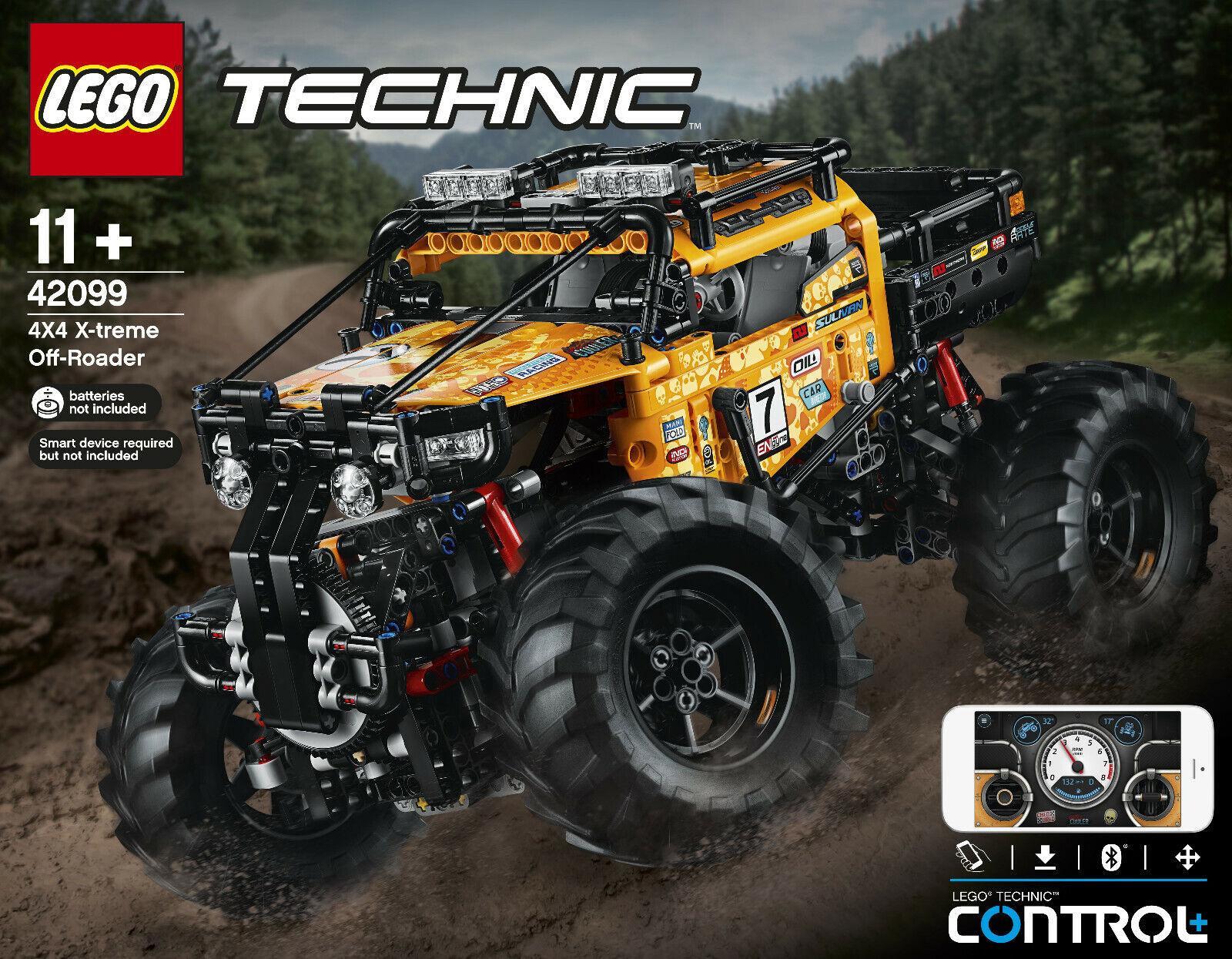 Técnica Lego 42099 - Cuatro Ruedas Xtreme-Geländewagen,Nuevo Embalaje