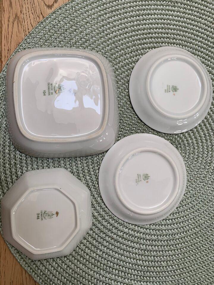 Porcelæn, Fad, Mågestellet