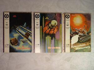 3 Hefte: Z Exklusiv Utopischer Roman Das Neun-Planeten-Spiel Welt ohne Sterne