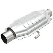 """Magnaflow 94016 High-Flow Catalytic Converter Oval 2.5"""" In/Out w/ Air Tube"""
