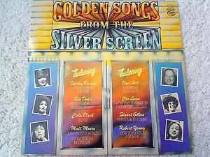12-034-Vinyl-LP-Record-Golden-Songs-From-The-Silver-Screen-MFP-50453-EX-NM