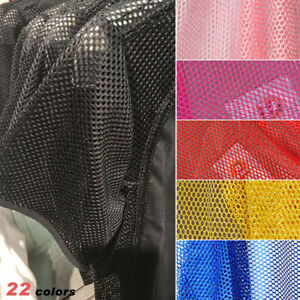 Soft Mesh Fabric Netting DIY Sewing Material for Outdoor Bags Shoes Clothes