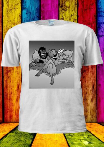 Slut Olive Oyl With Popeye and Bluto T-shirt Vest Tank Top Men Women Unisex 2393
