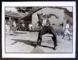 Photo-Alberto-Ibanez-Mexique-El-Diablo-Chaman-en-guerre-Tirage-d-039-epoque