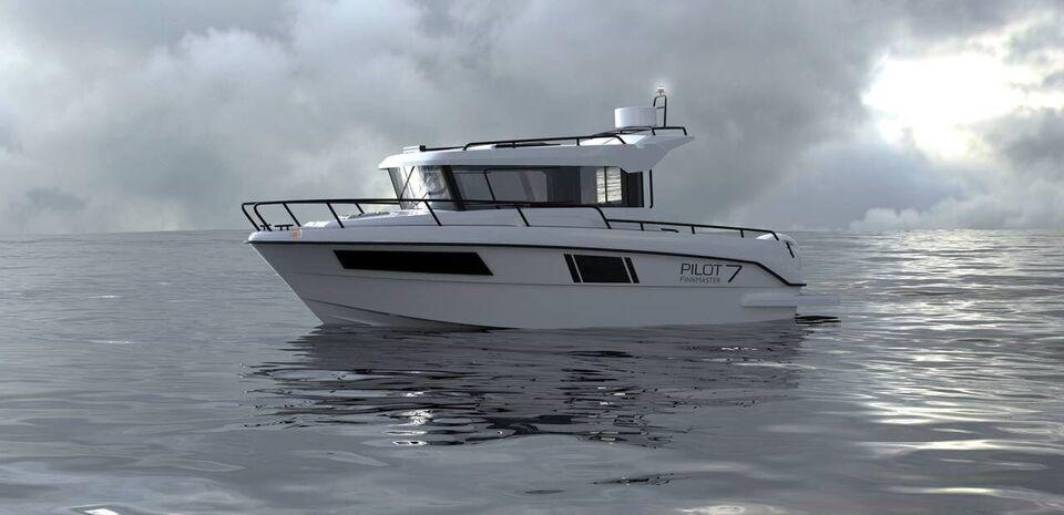 Finnmaster Pilot 7 W m/200HK og udstyr, Motorbåd, årg. 2022
