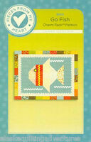 Charm Pack Quilt Pattern Go Fish By Pieces From My Heart