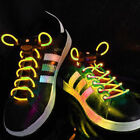 Yellow LED Lighted Shoe Laces + Extra Batteries- Ships FAST from USA!