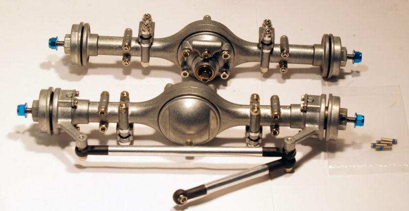 Tamyia OEM Radio Control 1/10 ejes para Axial, F-350, Tundra Hi elevadora frontal y Kit De Eje Trasero