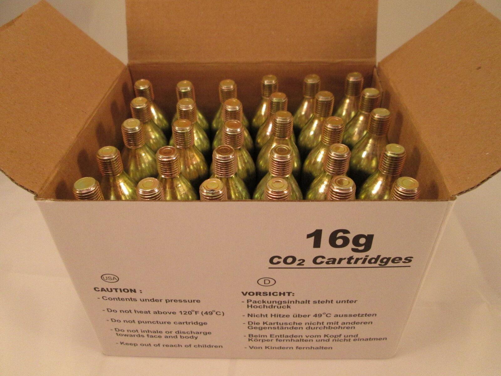 300 CO2 cartridge 16g Threaded C02  BIKE    motorcycle TIRE inflator 16 gram HVAC  sale online discount low price