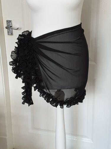 ruffled frilly sarong variety of colours available