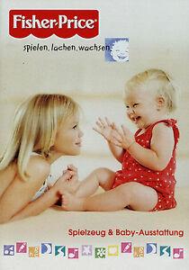 Prospekt-Fisher-Price-Mattel-9-05-2005-Babyspielzeug-Spielzeug-Katalog-catalog
