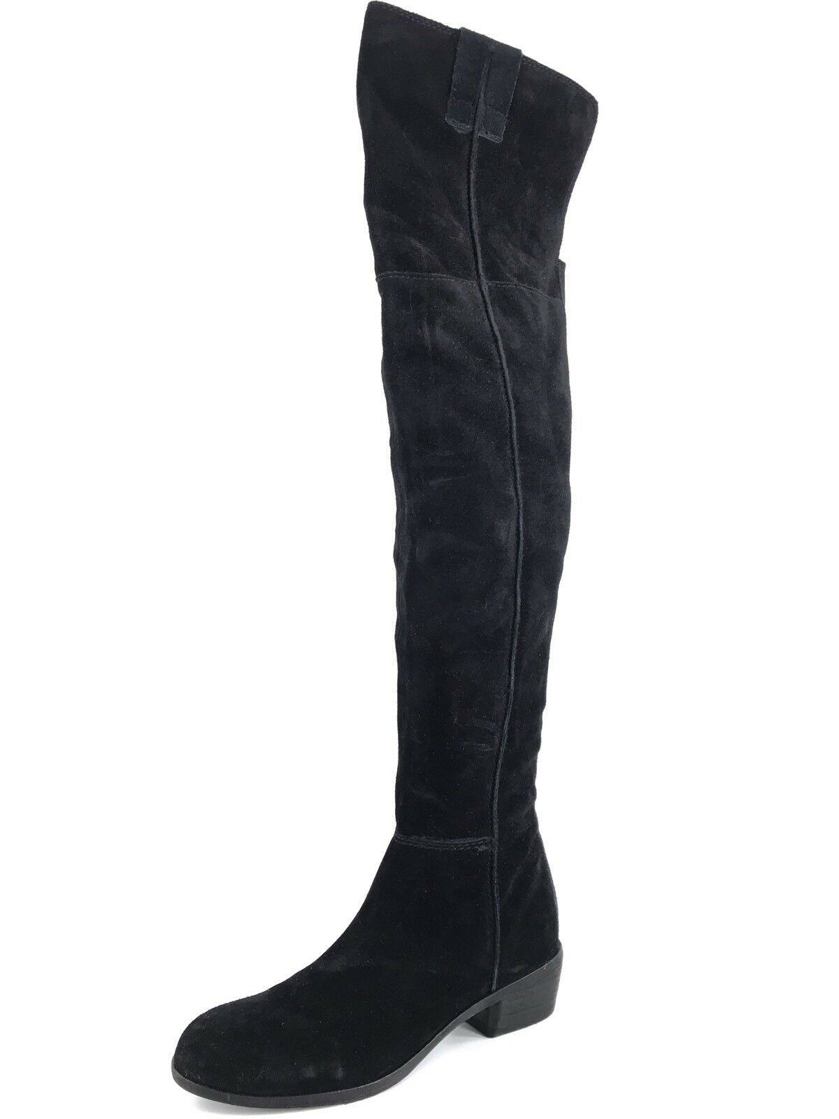 NEW $299 Sam Edelman Johanna Women's Over the Knee Knee Knee Black Suede Boots Size 5 M* 9cfab0