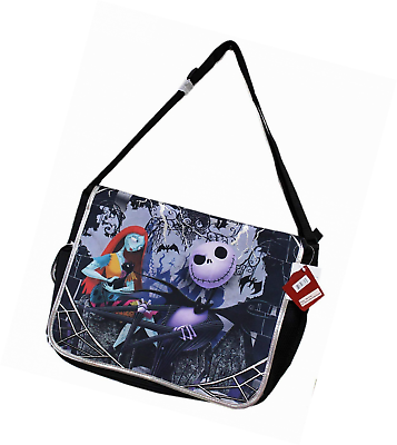 Disney Tim Burton/'s the Nightmare Before Christmas Large Messenger Bag