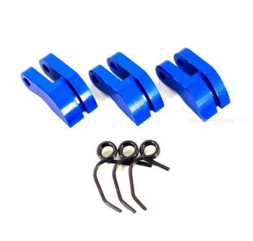 HSP 081008 Blue Aluminum Clutch Shoes /& Springs for Redcat Avalanche Hurricane