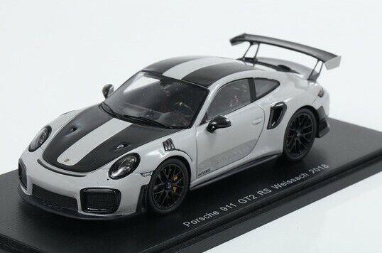 S7624 Spark 1 43 Porsche 911 GT2 RS Weissach, paquete de 2018