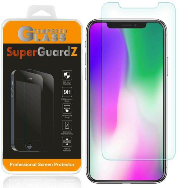 SuperGuardZ Tempered Glass Screen Protector Saver For iPhone 12 / Pro Max / Mini