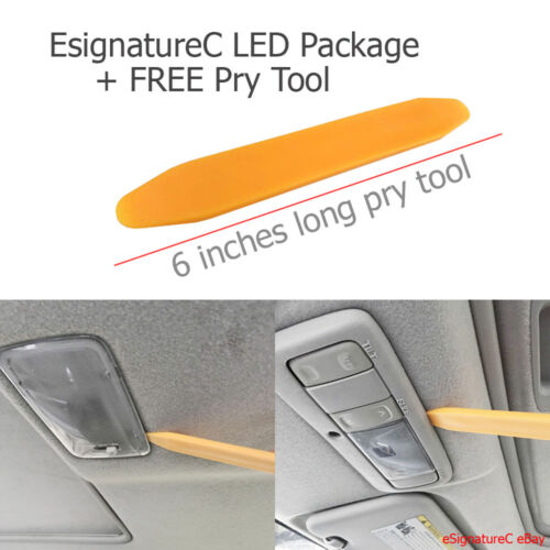 PRY TOOL 8 x Red LED Interior Lights Package For 2005-2007 Scion TC
