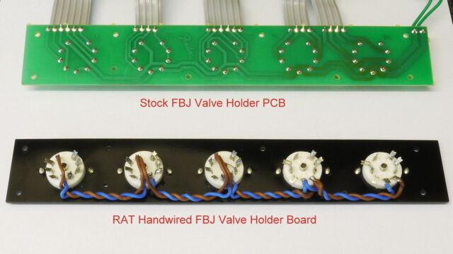 FENDER BLUES JUNIOR FBJ REPLACEMENT VALVE BOARD FOR v2-v3-v4 and TWEED AMPS EL84