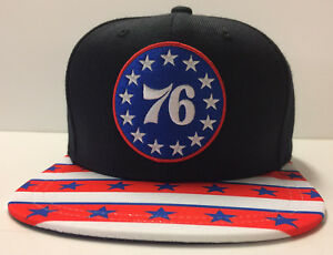 3633ae14 Image is loading Philadelphia-76ers-Mitchell-amp-Ness-Snapback-Hat-Ben-