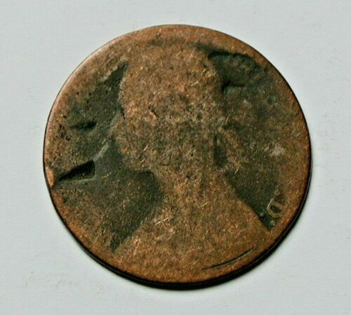 - indents Victoria Coin British worn One Penny 1d 1879 UK