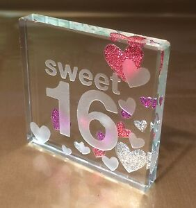Image Is Loading Happy 16th Birthday Gift Ideas Spaceform Sweet Sixteen