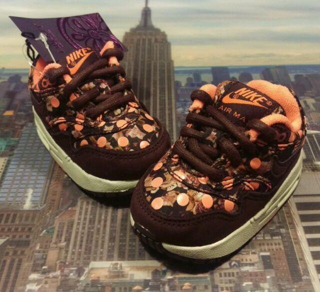 80e1d3bf Nike Air Max 1 Lib QS Burgundy TD Toddler Size 2c 2016 95 90 Liberty 718742  600 for sale online   eBay