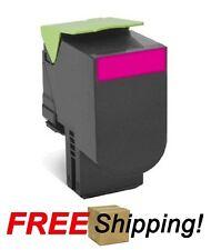 High Yield Magenta Toner Cartridge for Lexmark (80C1SM0) CX310 CX410 CX510 - 2k