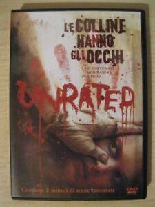 DVD-LE-COLLINE-HANNO-GLI-OCCHI-UNRATED-Film-Horror-Cinema-Video-Movie