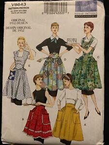 Vogue Patterns V8643 Aprons
