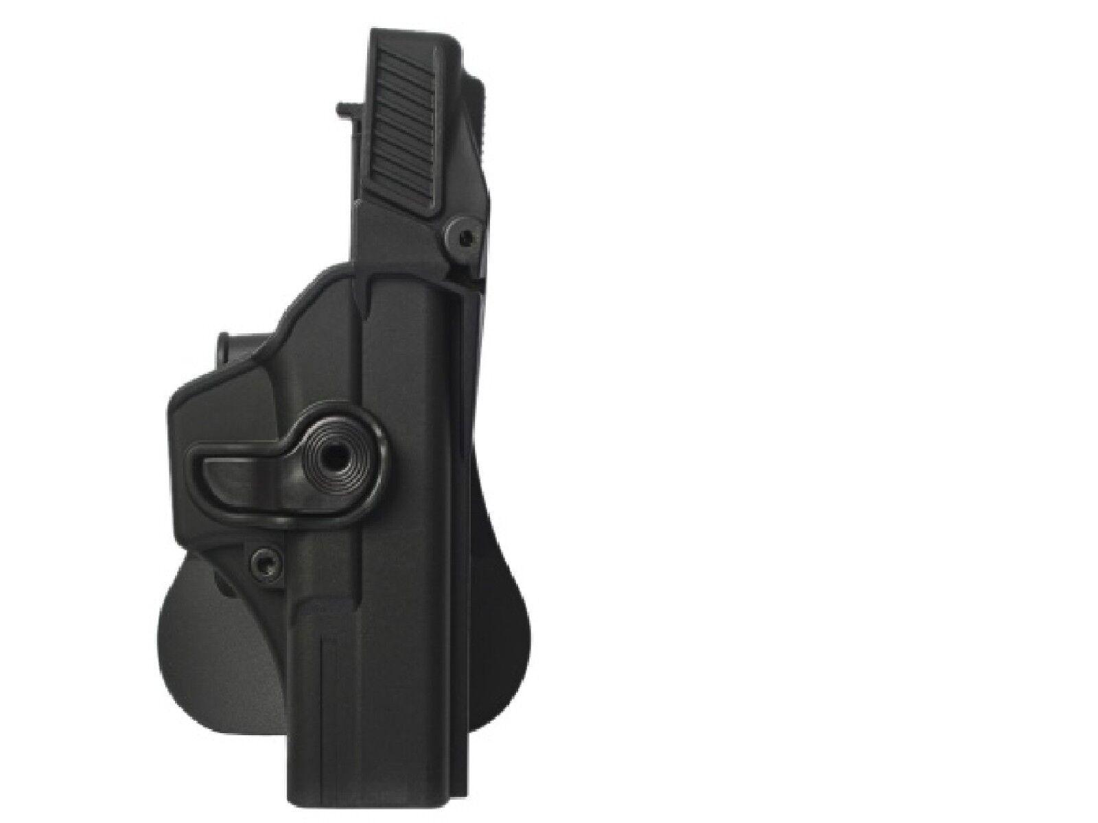 El IMI Nivel De Negro 3 retención Pistolera Para Glock 31 Gen 4 Uso Compatible por Idf