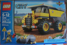 LEGO 4202 City Mining Truck 269 Pcs Ages 5-12 New Sealed Box