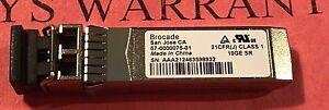 Brocade 10GB 57-0000075-01 10G-SFPP-SR 10Gbase-sr/sw 850nm SFP+ Transceiver >400