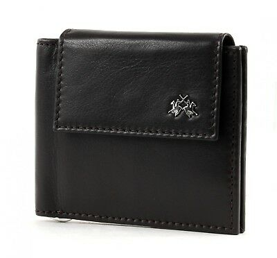 Brillante La Martina Rio Tortoni Dollari Wallet With Flap Denaro Parentesi Portafoglio Dark Brown-mostra Il Titolo Originale