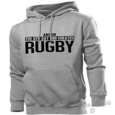 And On The 8 Th Day God Created Rugby Hoodie Men Women Rugger Scrums Training