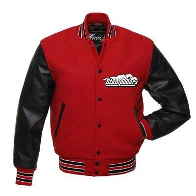 Calgary Stampeders Cfl Varsity Jacket All Sizes Ebay