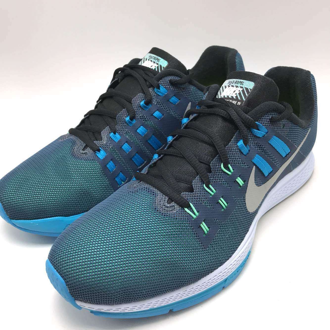 Nike Air Zoom Structure 19 Flash Men's Running SQDRN Blue/Silver-Blue 806578-400