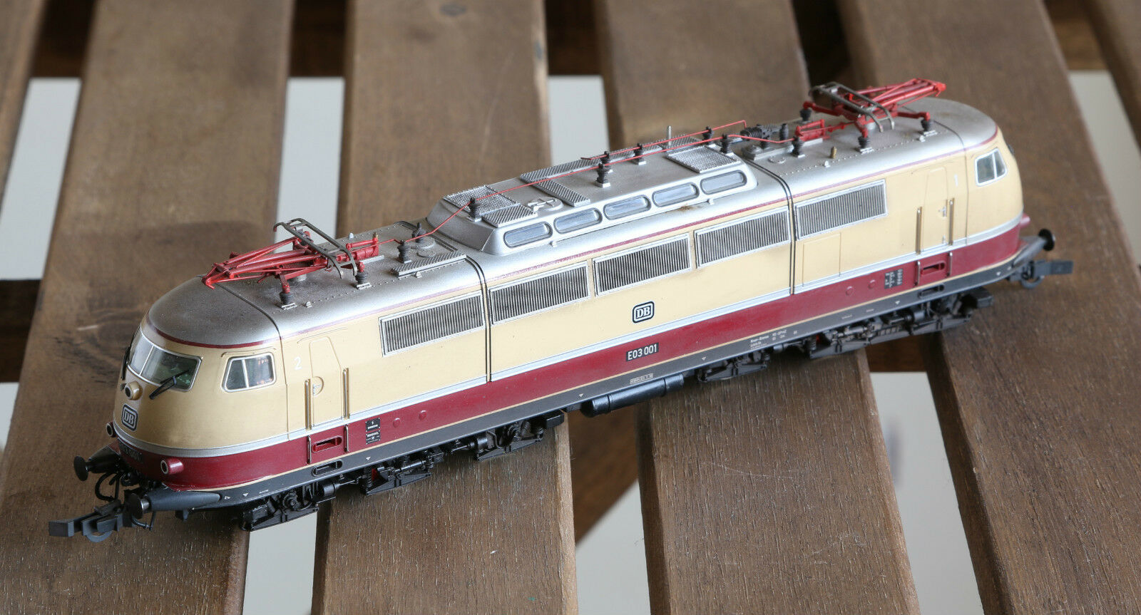 Roco 63747 Professional Museumsedition E03 001,H0, DCC w/sound, OVP