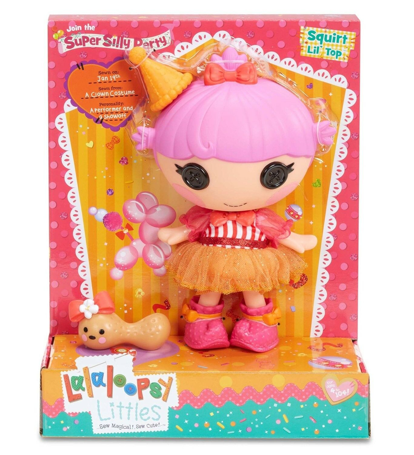 LALALOOPSY LITTLES SUPER SILLY PARTY SQUIRT LIL' TOP BRAND NEW