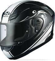 Kabuto Ff-5v Works, Large L, Black, Motorcycle Full Face Street Helmet
