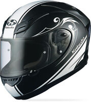 Kabuto Ff-5v Works, Large L, Black, Motorcycle Full Face Street Helmet