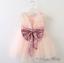 Flower-Girl-Sequin-Tulle-Tutu-Baby-Dress-Princess-Vintage-Party-Wedding thumbnail 5