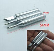 2PCS 5.5mm jack tips Solder Iron Leader 907H-1.6D Tip for 70W 60W Soldering Iron