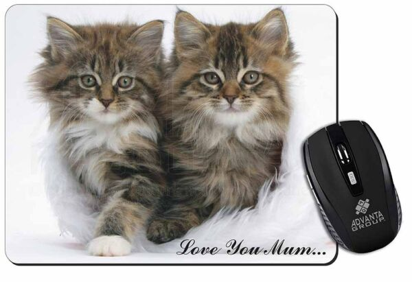 'love You Mum' Mothers Day Cats Computer Mouse Mat Christmas Gift Id, Ac-189lymm Snelle Warmteafvoer