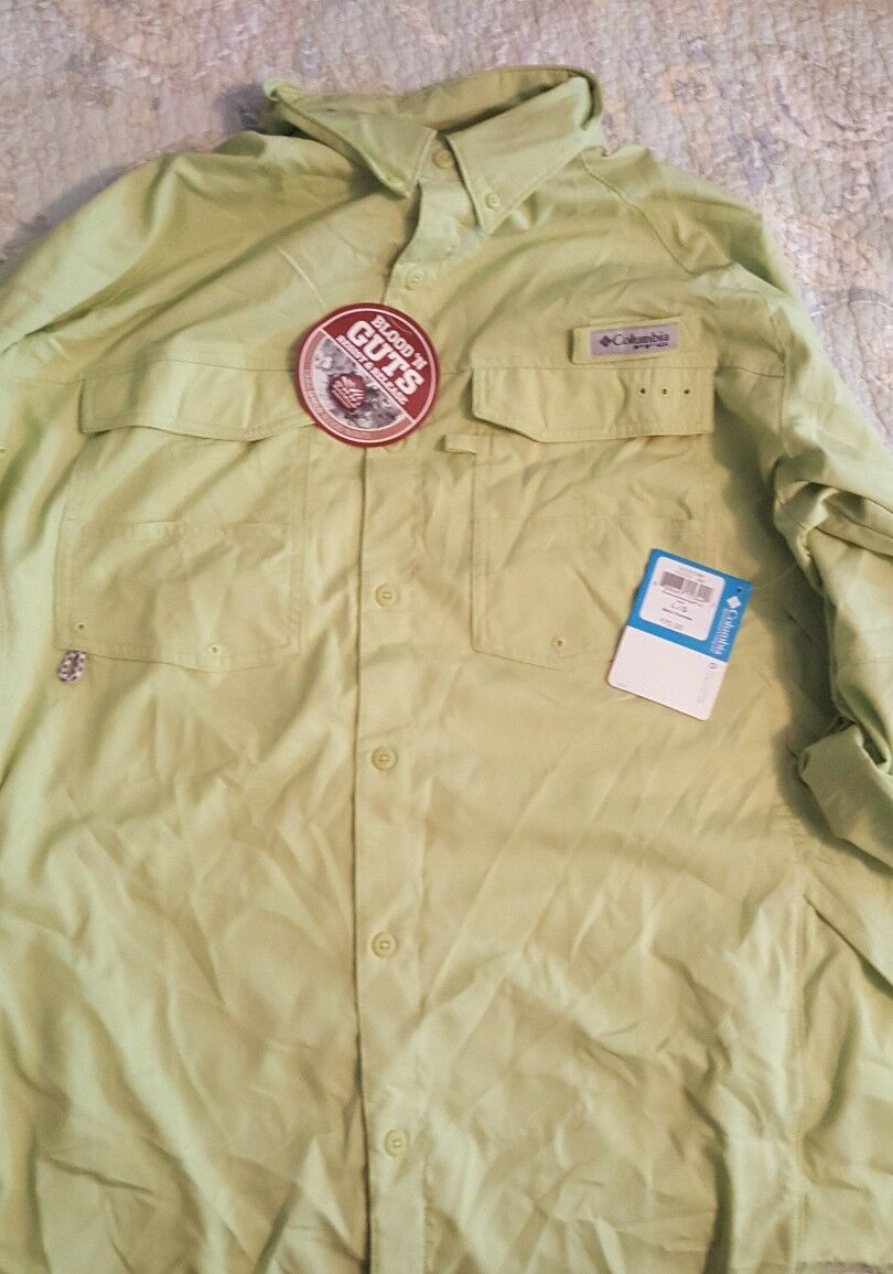 Columbia pfg omni shade long  sleeve  outlet online