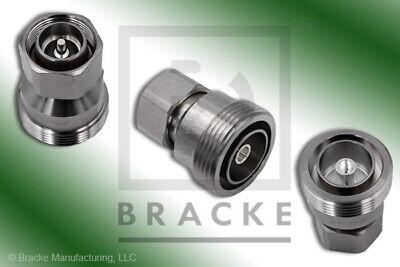 "7//8/"" EIA to 7//16 DIN  Male Adapter  BM51040 BRACKE"